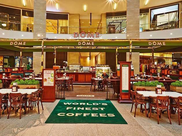 DÔME Café buka puasa menu