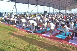 Second International Day of Yoga in Colombo