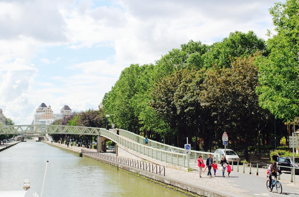 Canal de l'Ourcq (up to Seine-et-Marne), 19th