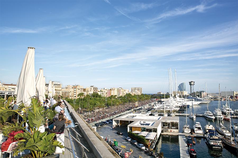 Terrazas con vistas en Barcelona