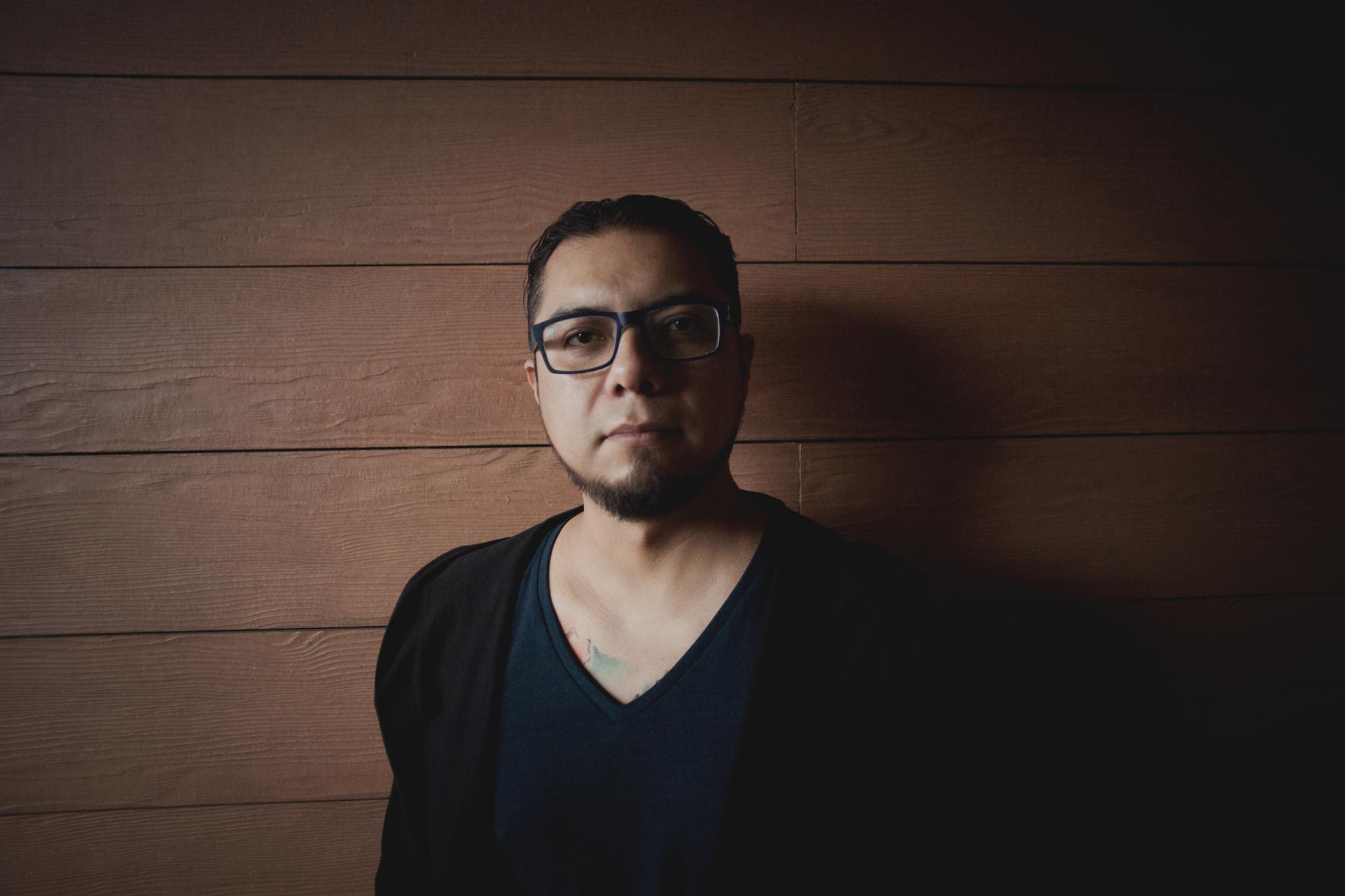 Ricardo Saenz integrante de Perphidia de la Ciudad de México