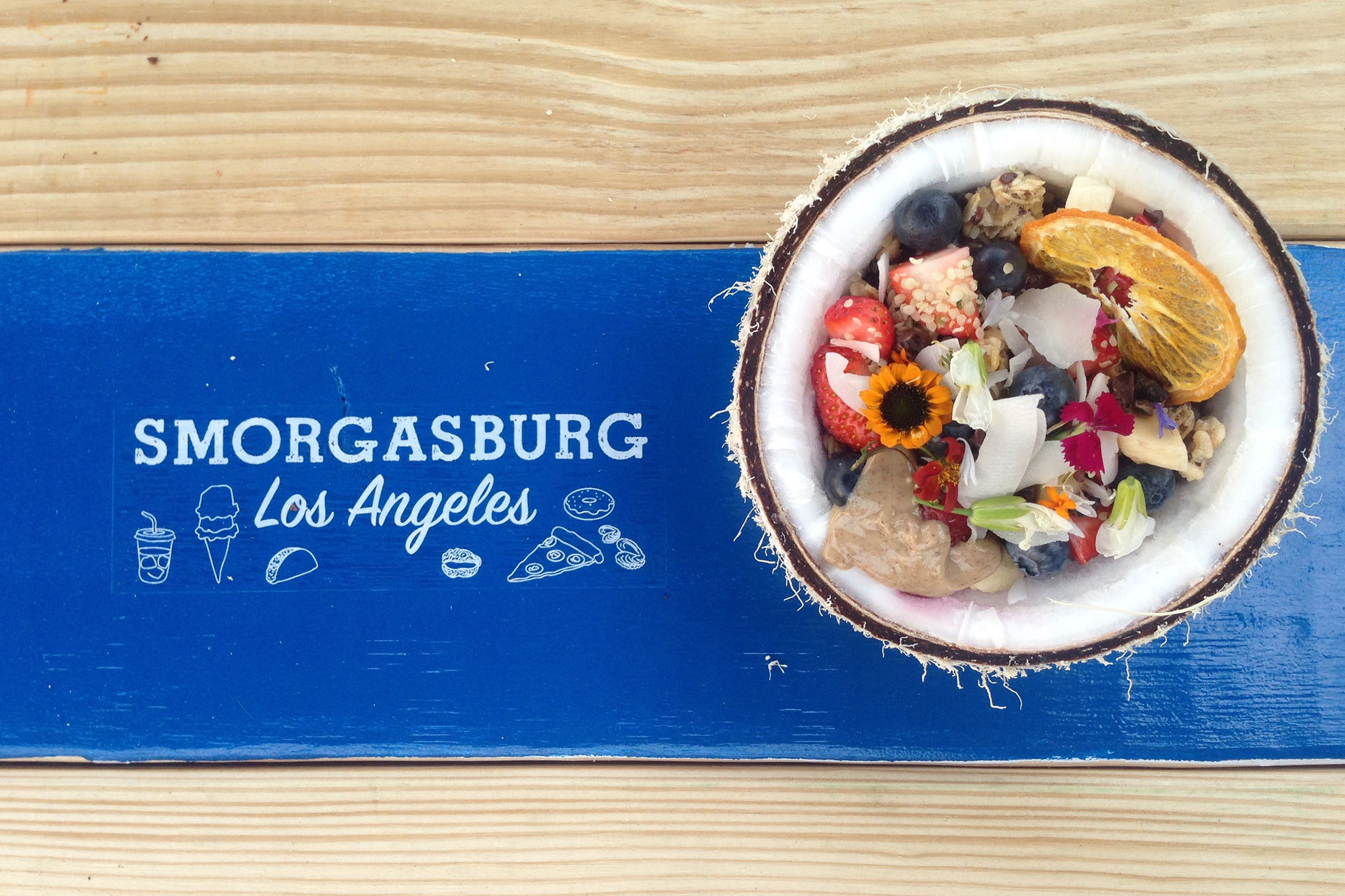 For one day only, Smorgasburg is popping up on the westside