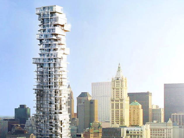 The Ten Craziest Looking Buildings In New York - London-gherkin-an-unusual-eggshaped-building