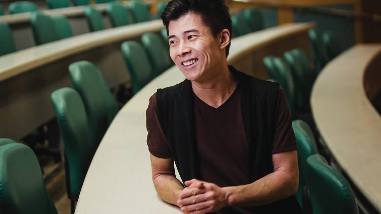 Trans filmmaker, educator and lobbyist Kaspar Wan