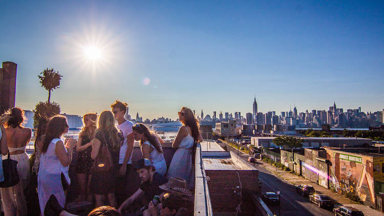 rooftop parties, output