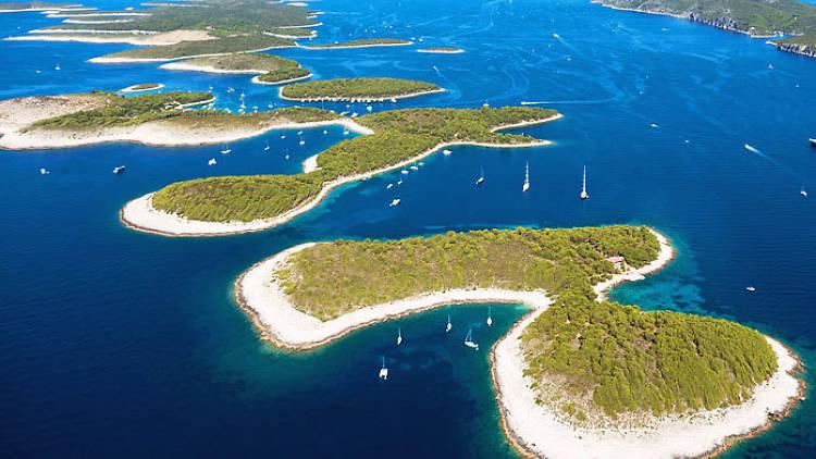 Pakleni islands near Hvar