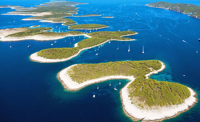 Pakleni Islands beaches, Hvar