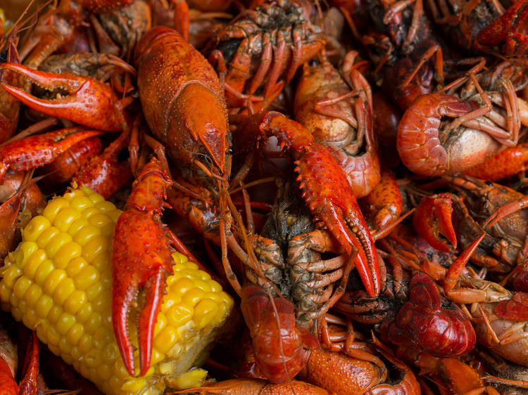 Mardi Gras Madness Crawfish Boil