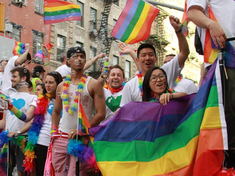 NYC Pride March 2021