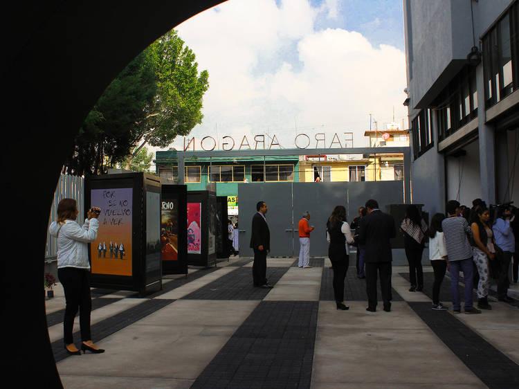 Faro Aragón Cine Corregidora