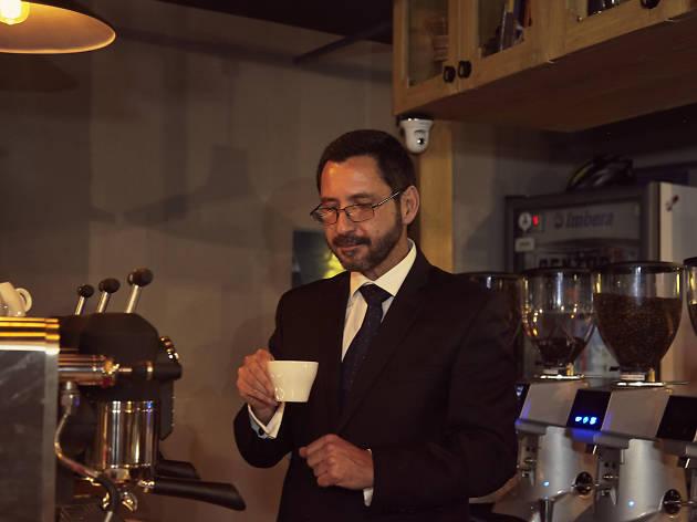 Café de Pablo Contreras en Centro Café
