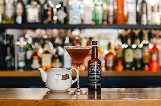The Woolshed chai mocktail