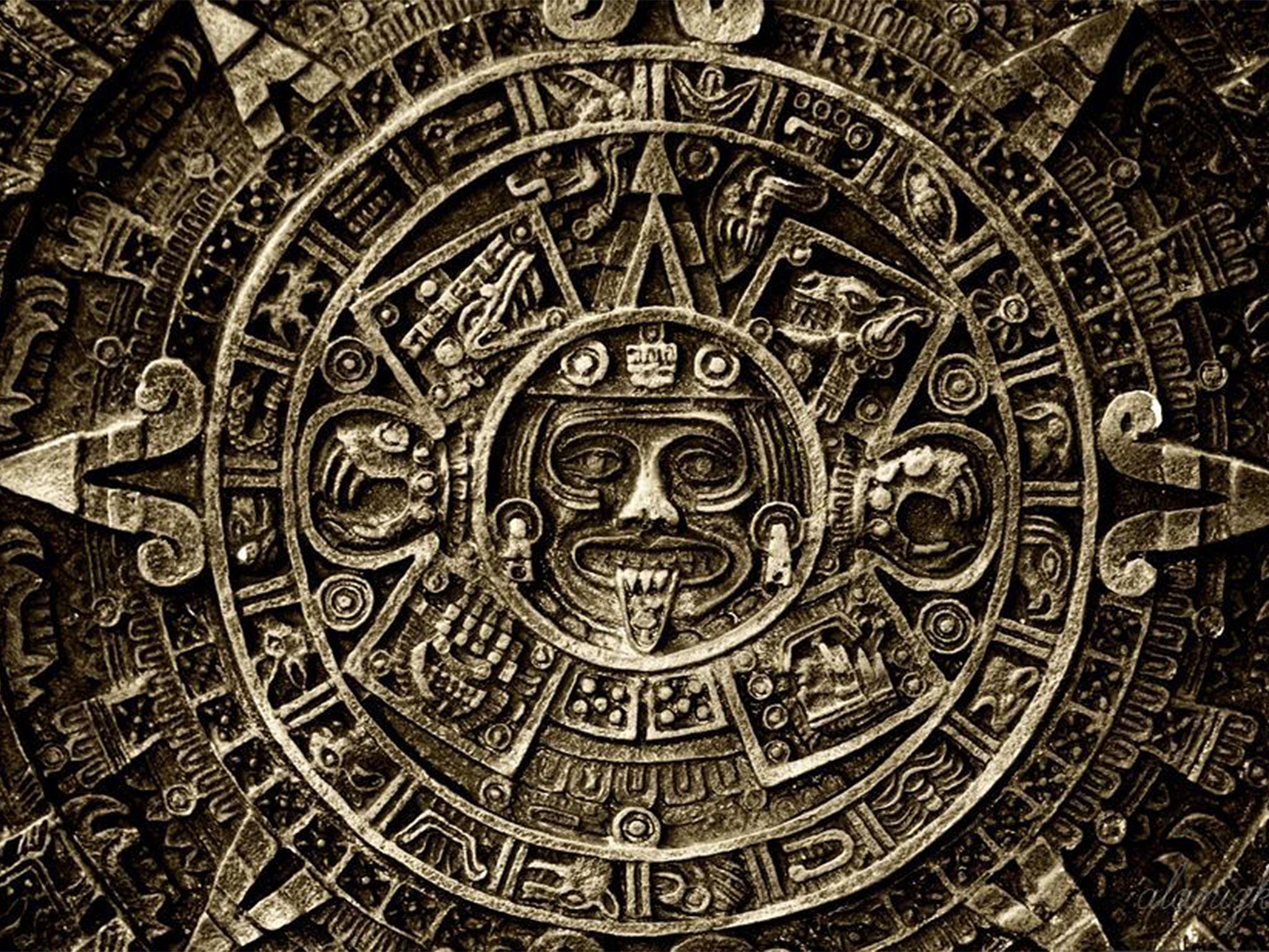 Generic Mayan stone carving