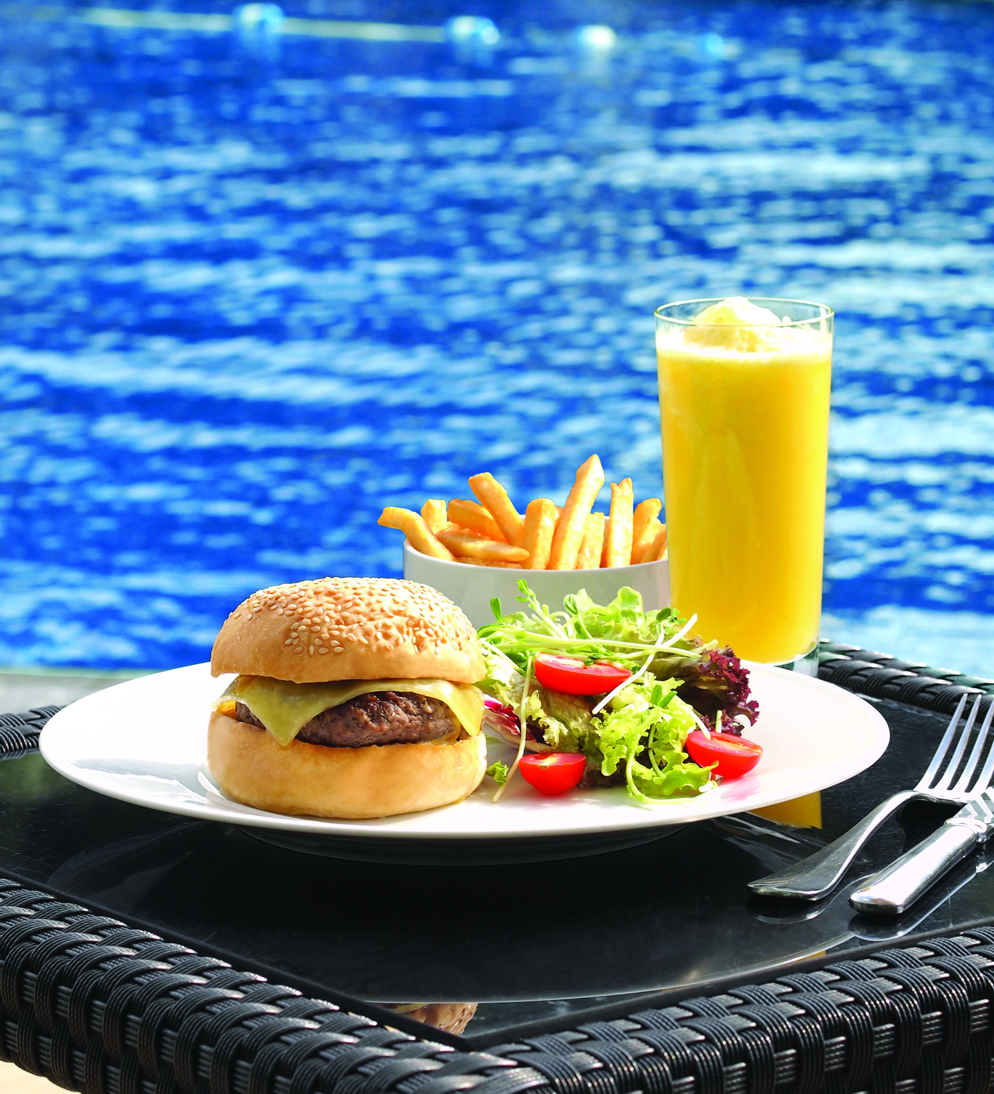 The best hotels for poolside dining in Hong Kong and Macau