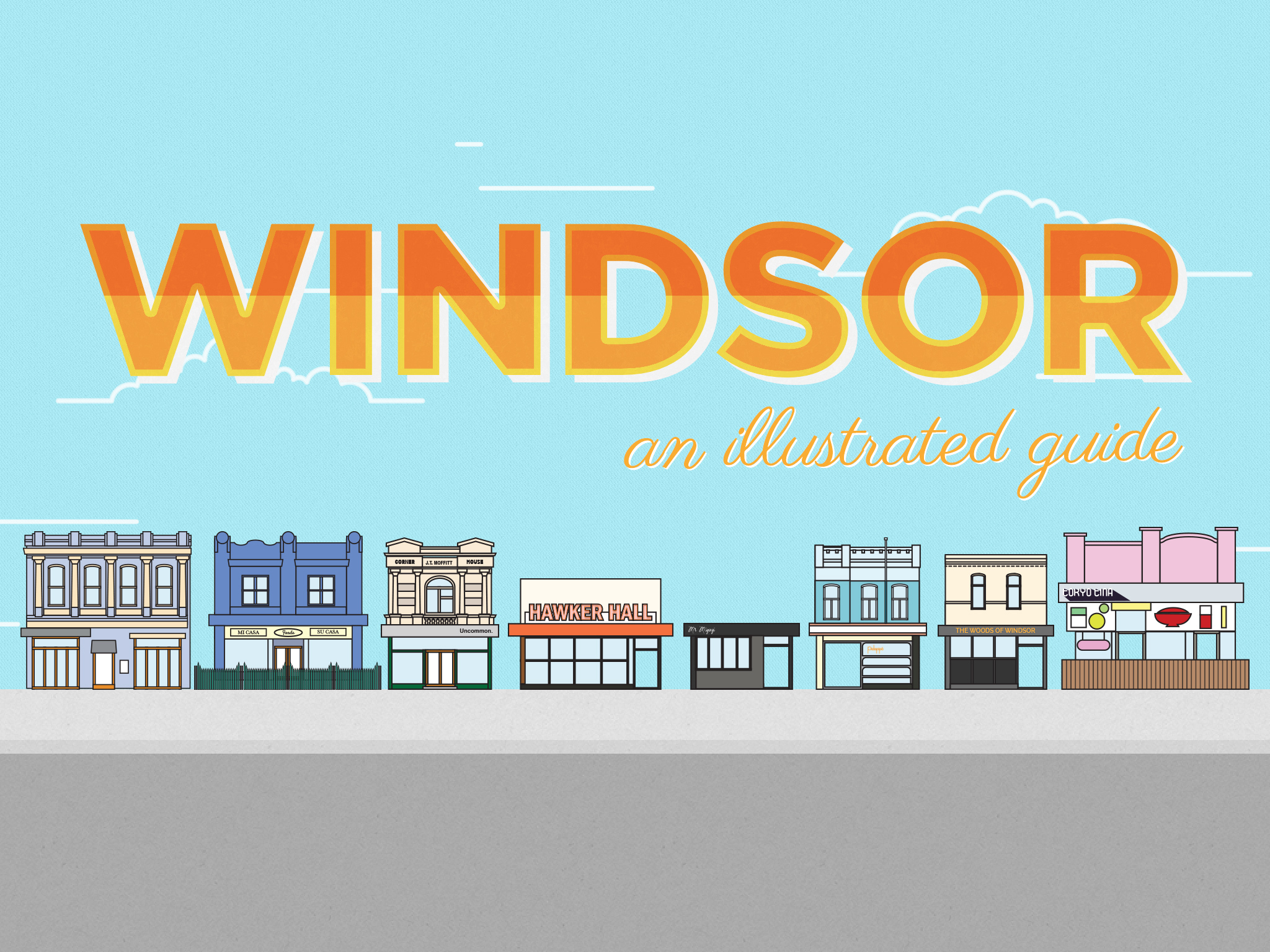 Windsor lead illustration