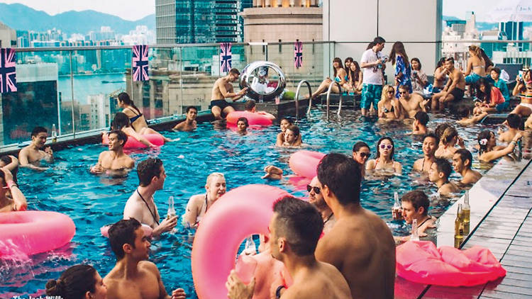 jack wills summer pool party