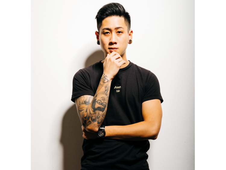 Bradley Tan from Oracle Tattoo