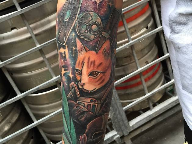 Jon Emmanuel Gumapon's tattoo by Julian Chia
