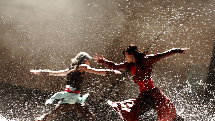 Two actors clashing on the set of Storm Clouds