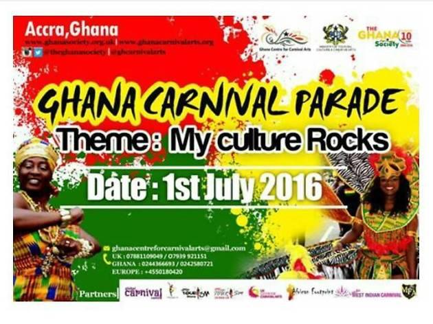 Ghana Carnival Parade