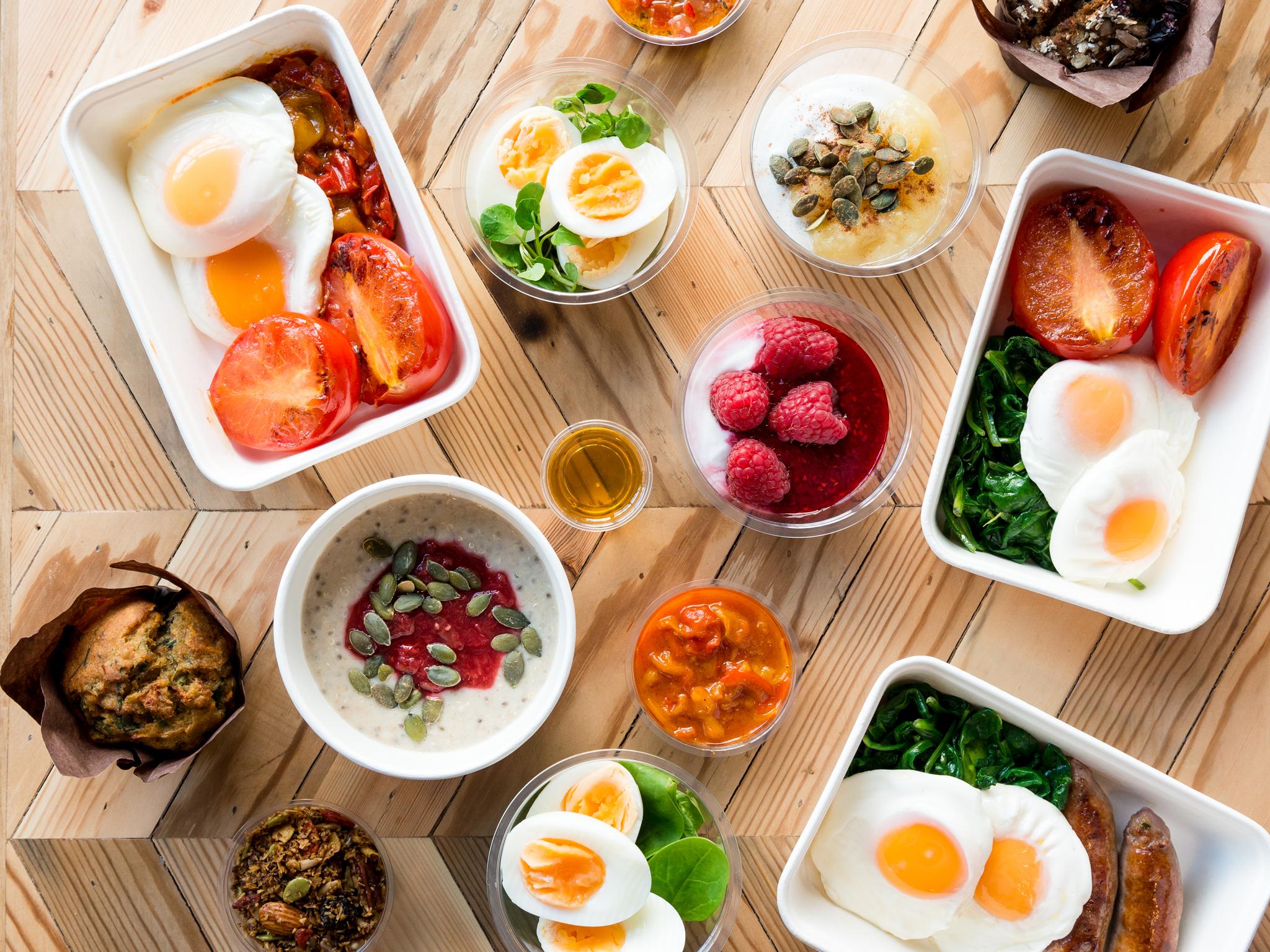 the best breakfast in London, farmstand