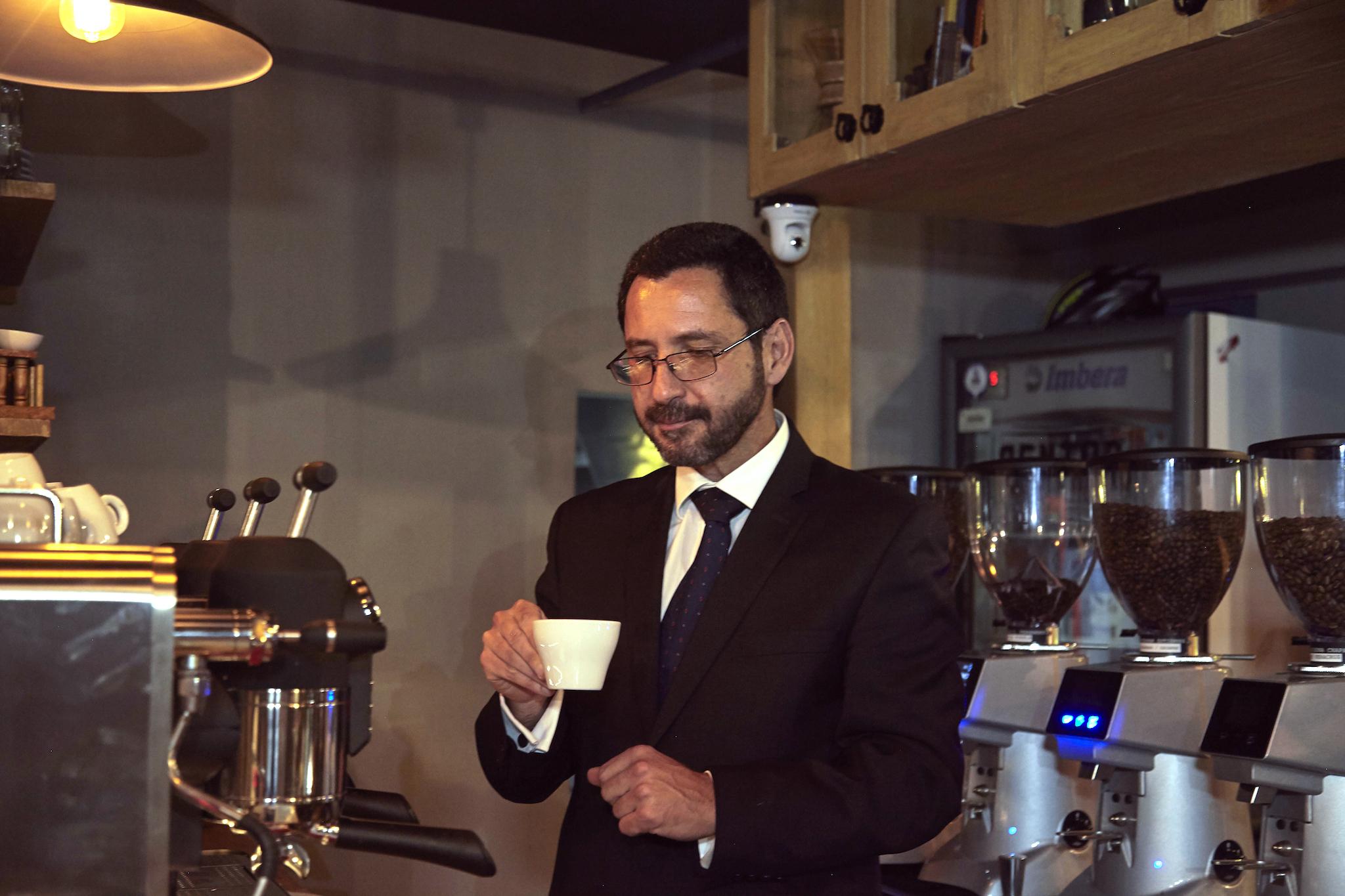 Entrevista con el barista Pablo Contreras