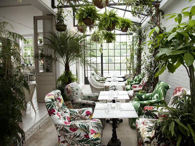 Best gardens in London restaurants, Bourne & Hollingsworth