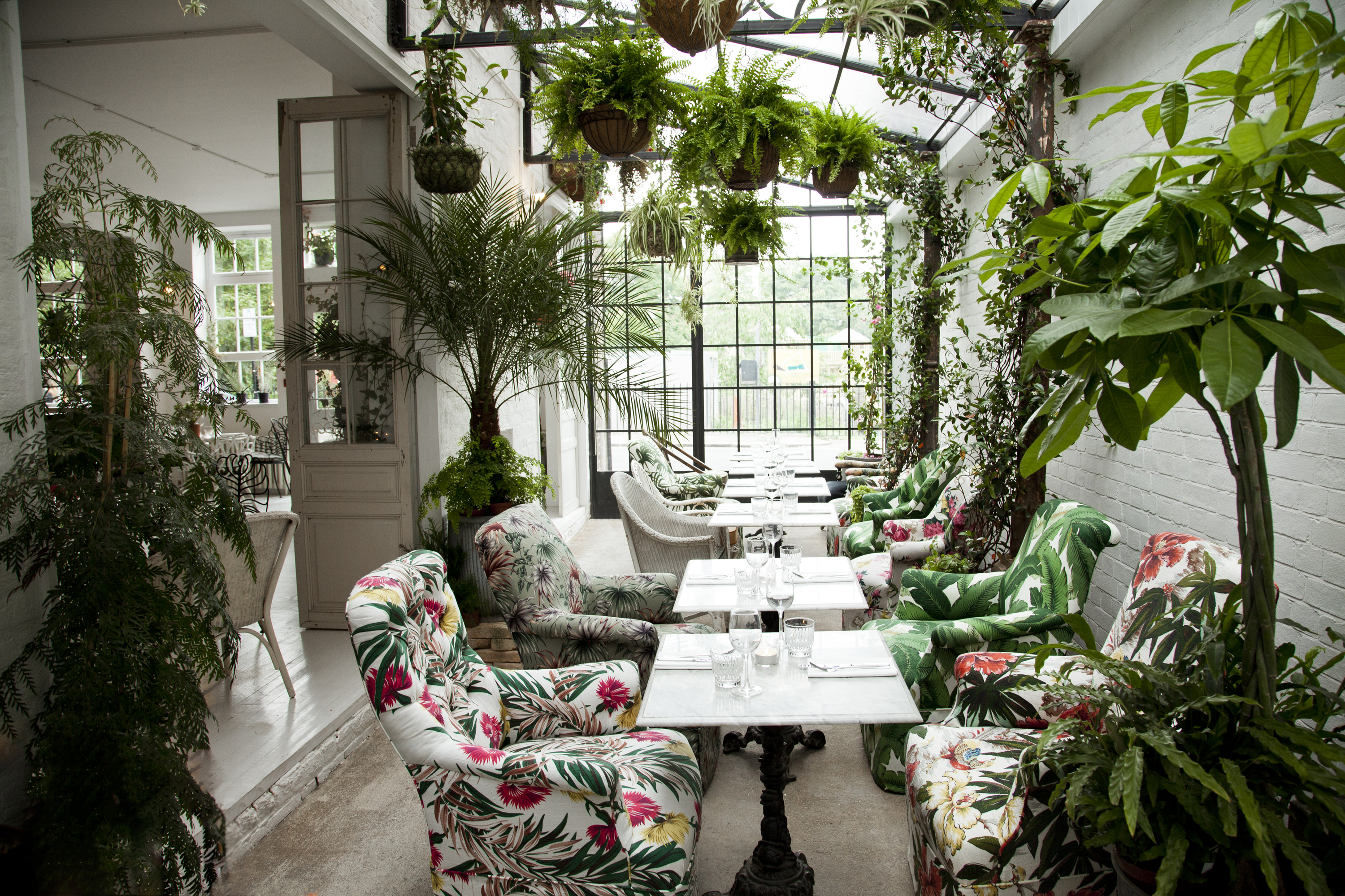 Best gardens in london restaurants for Garden trees london