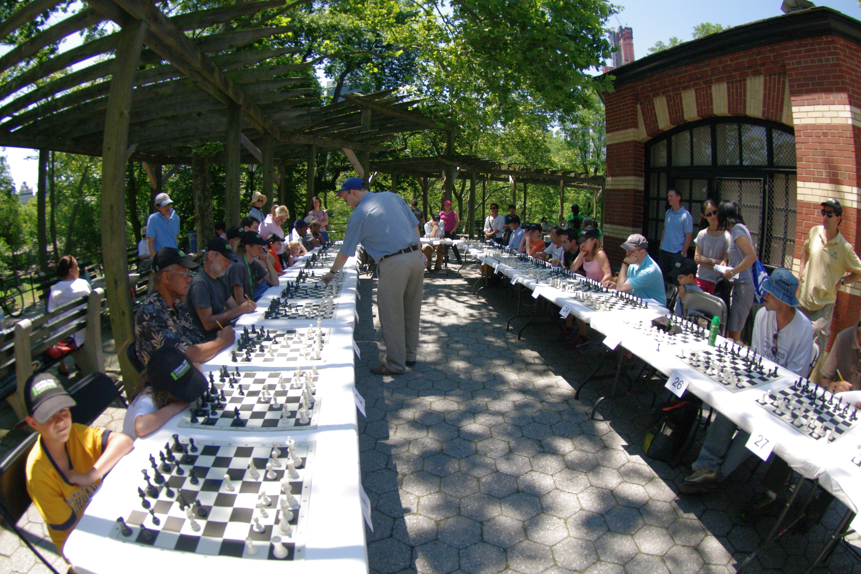 Central Park Conservancy: Chess Lecture and Simul Series