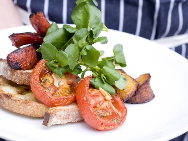 best brunch in london, modern pantry