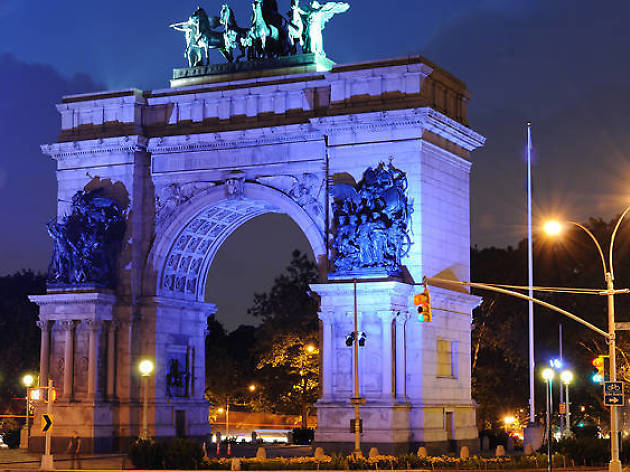 Grand Army Plaza, Prospect Heights
