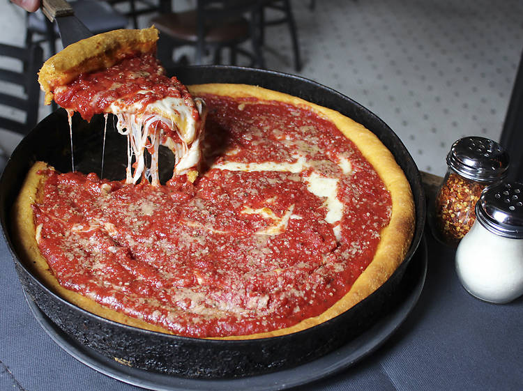 We don't really eat that much deep dish.