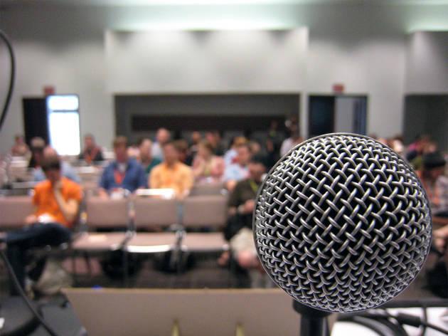 Generic microphone public speaking
