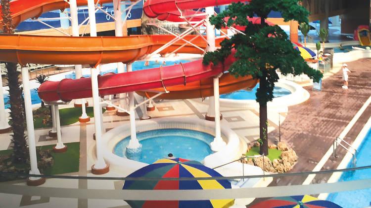 Slides at Munsu Water Park