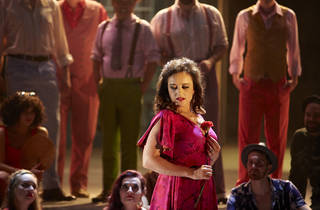 Carmen 2016 John Bell dir production image 02 feat Clementine Margaine photographer credit Keith Saunders