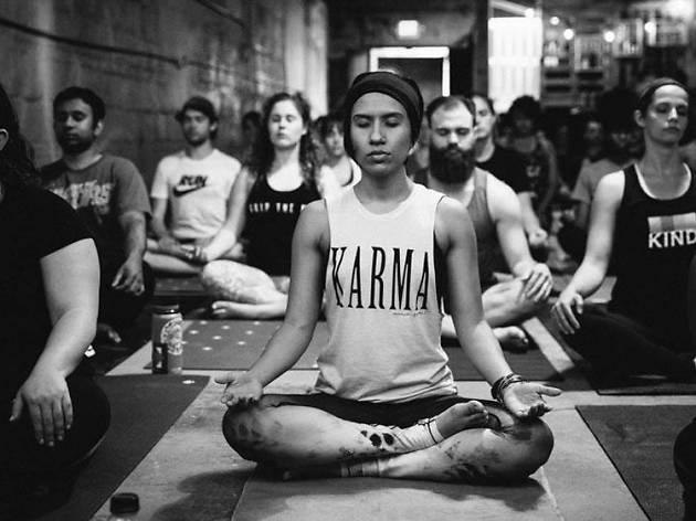 #WeAreOrlando yoga event