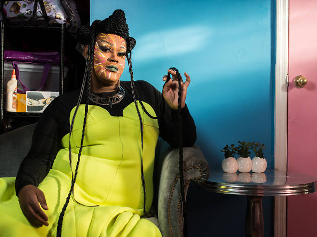 "Merrie Cherry is a Brooklyn drag queen who thinks ""drag is the new rock star"""