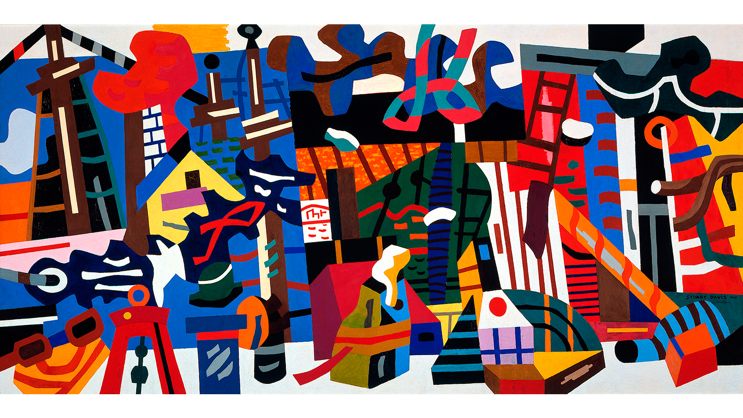 Stuart Davis In Full Swing Art In New York