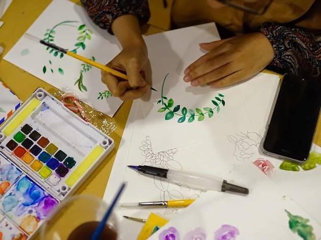 Workshops at Stickerrific