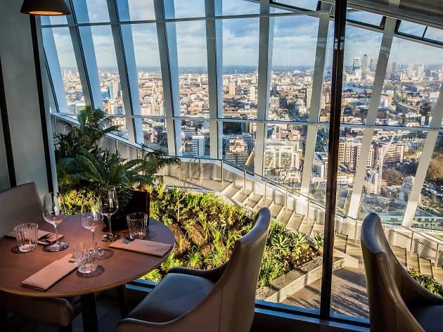 Best gardens in London restaurants, Darwin Brasserie