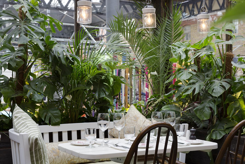 Best gardens in London restaurants, Blixen