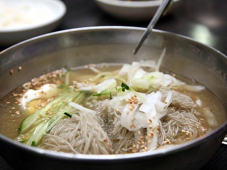 Naengmyeon at Joon Ko Restaurant