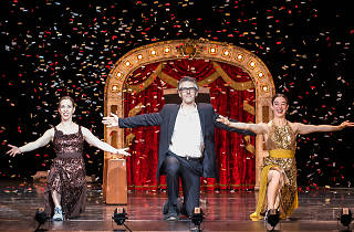 Ira Glass in 'Three Acts, Two Dancers, One Radio Host'
