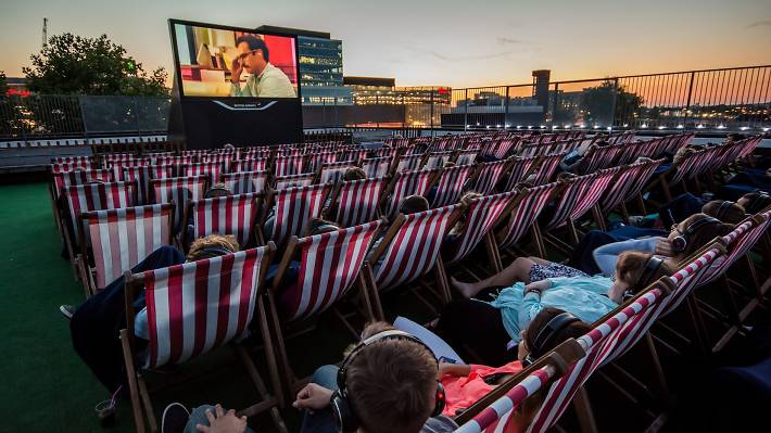 Rooftop Film Club, Tobacco Dock