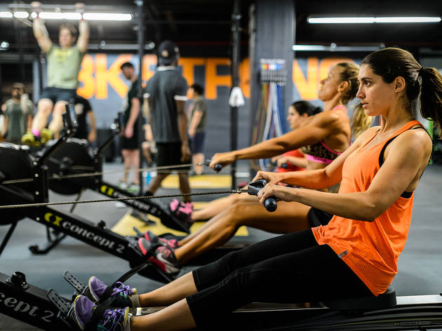 Check out the best CrossFit gyms in NYC
