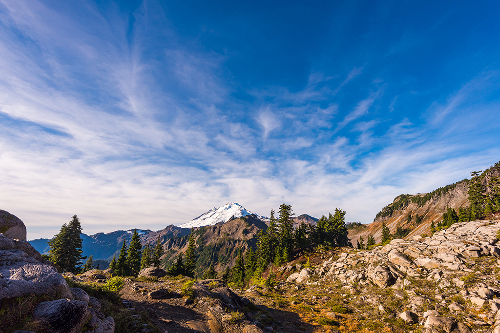 Artist Point in Mount Baker-Snoqualmie Forest, WA