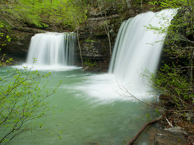 Twin Falls in the Ozarks, AR