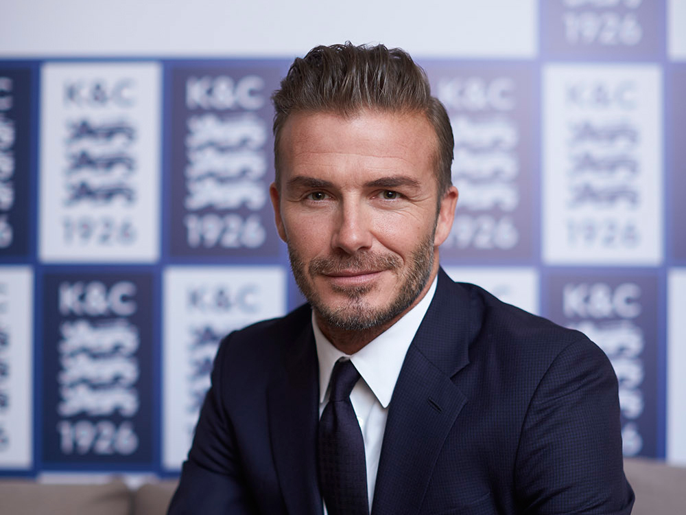 David Beckham lands in Hong Kong for Kent and Curwen's 90th anniversary