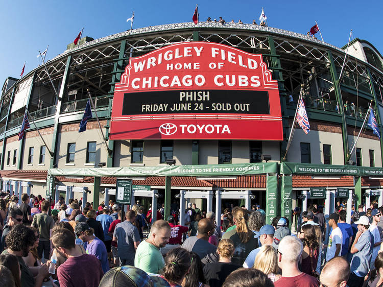 Root, root, root for the home team at Wrigley Field