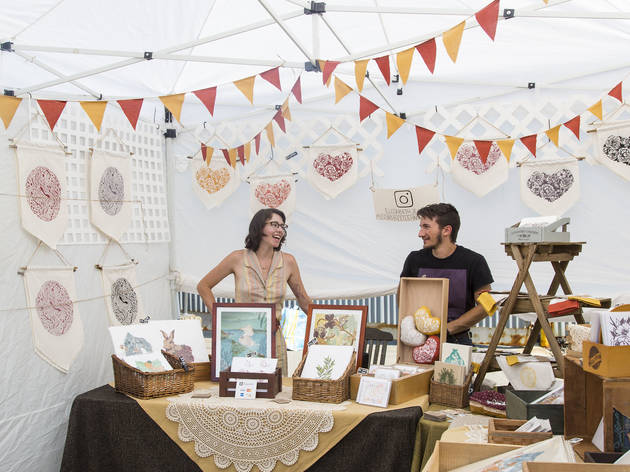 Photos from Renegade Craft Fair at The Hideout